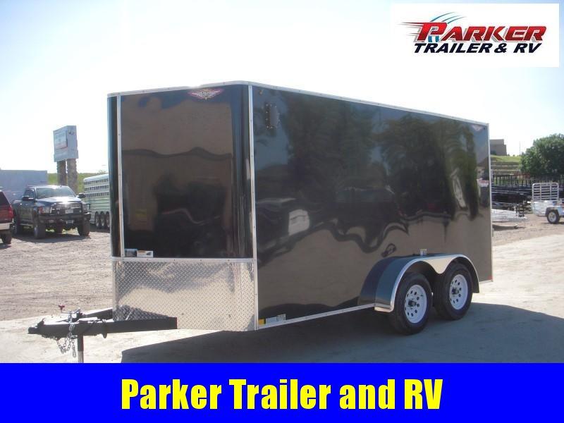 2019 H&H H8414TFTV-070 Enclosed Cargo Trailer