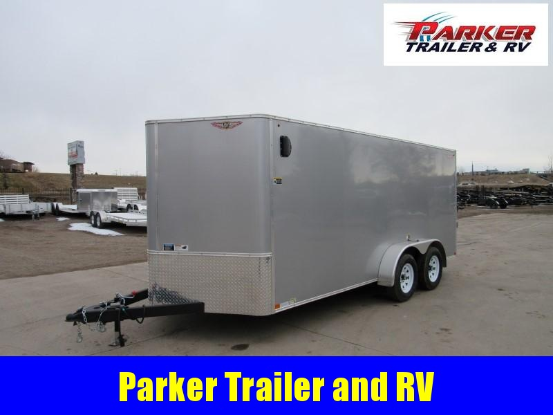 2020 H&H H8416TFTV-070 Enclosed Cargo Trailer