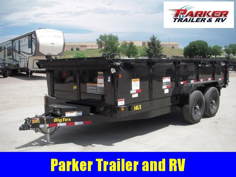 2020 Big Tex Trailers 14LX-16BK7SIRPD Dump