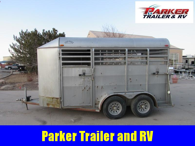 2008 King 2H BP Horse Trailer