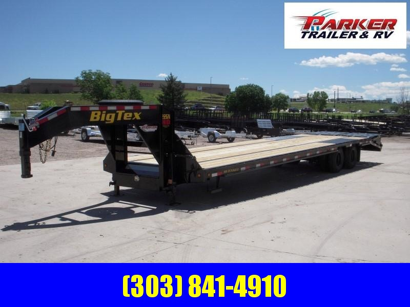 2020 Big Tex Trailers 22GN-30BK+5MR Flatbed Trailer