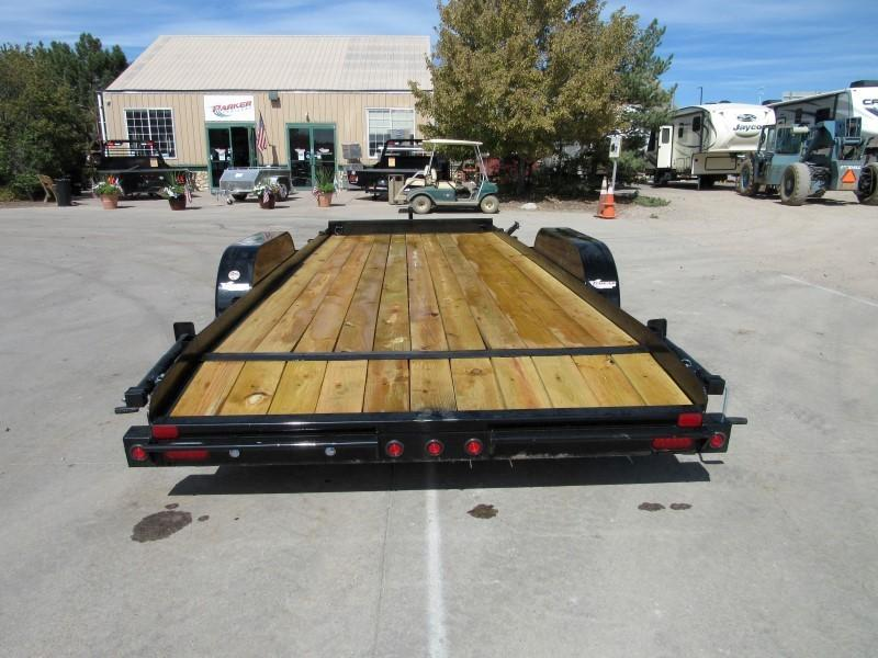 2020 Big Tex Trailers 10CH-20BKDT Flatbed Trailer