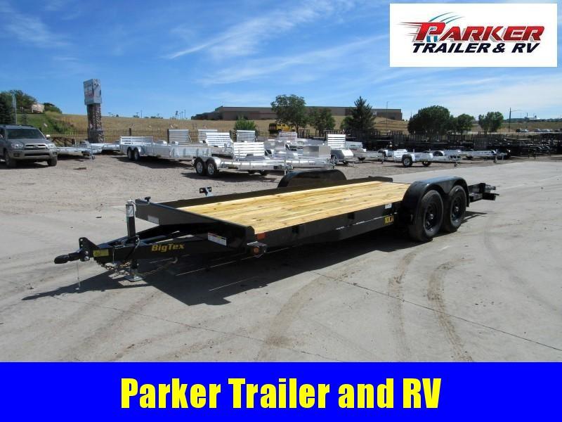 2020 Big Tex Trailers 10CH-20BKDT Flatbed Trailer