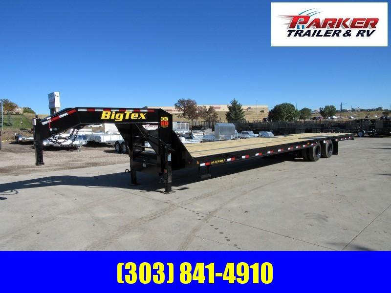 2020 Big Tex Trailers 3XGN-36 Flatbed Trailer