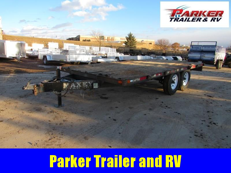 1986 Homemade DECKFLATBED Flatbed Trailer
