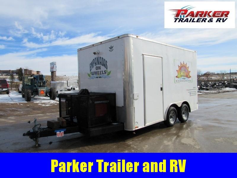 2018 MINI 8.5X14TA Enclosed Cargo Trailer