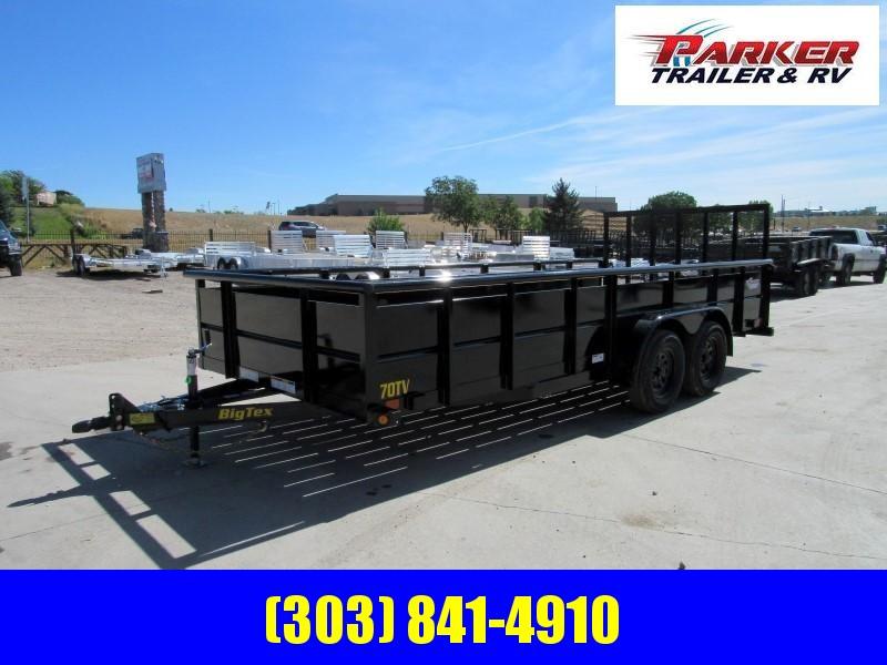 2020 Big Tex Trailers 70TV-18 Utility Trailer