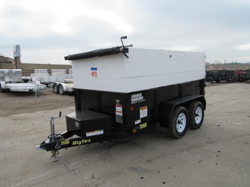 2017 Big Tex Trailers 70SR-10-5WDD Dump