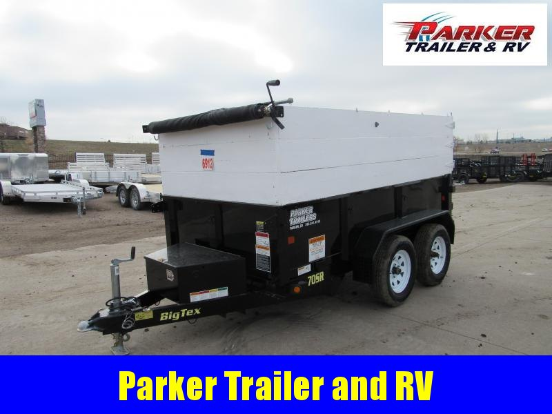 2017 Big Tex Trailers 70SR-10-5WDD Dump