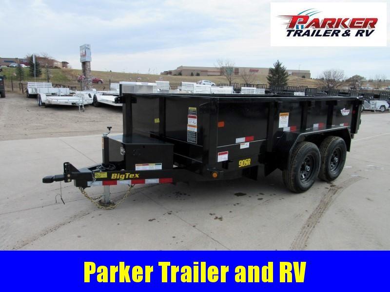 2020 Big Tex Trailers 90SR-12BK7SIR Dump