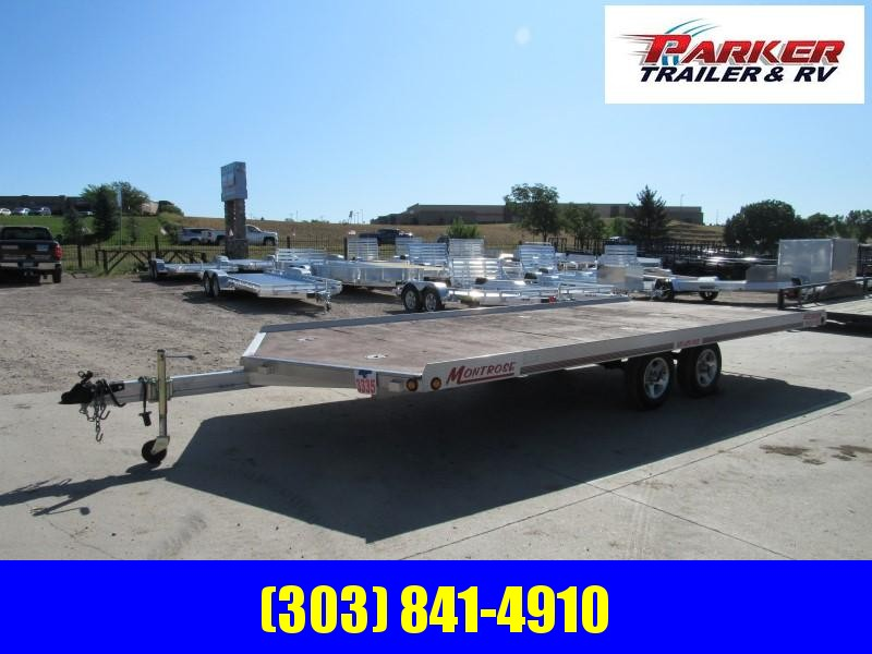 2006 MONTROSE 4PL SNOWMOBILE Flatbed Trailer