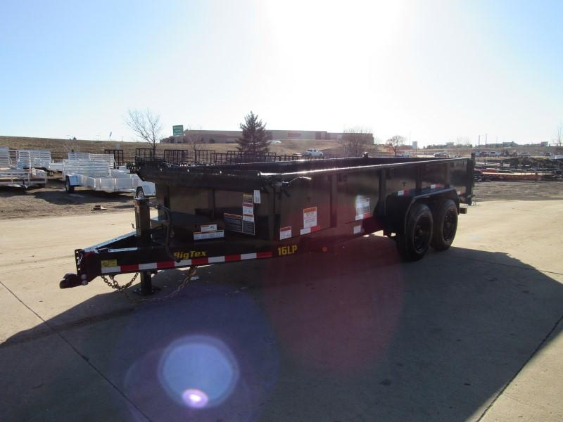 2020 Big Tex Trailers 16LP-16BK6SIRPD Dump
