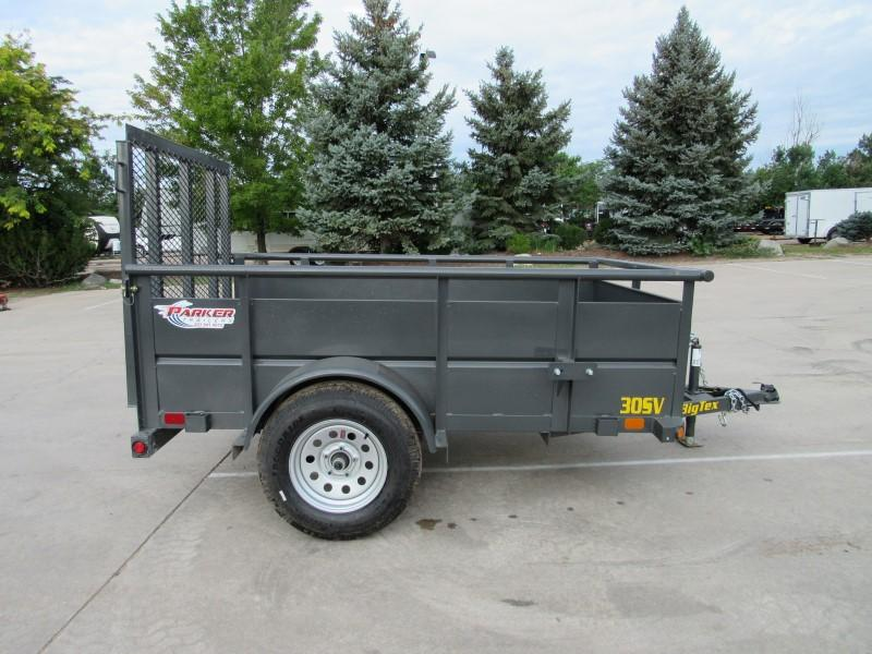 2020 Big Tex Trailers 30SV-08GY Utility Trailer