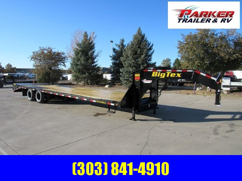 2020 Big Tex Trailers 22GN-28BK+5MR Flatbed Trailer