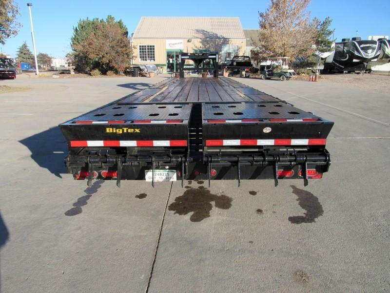 2020 Big Tex Trailers 14GN-28BK+5MR Flatbed Trailer