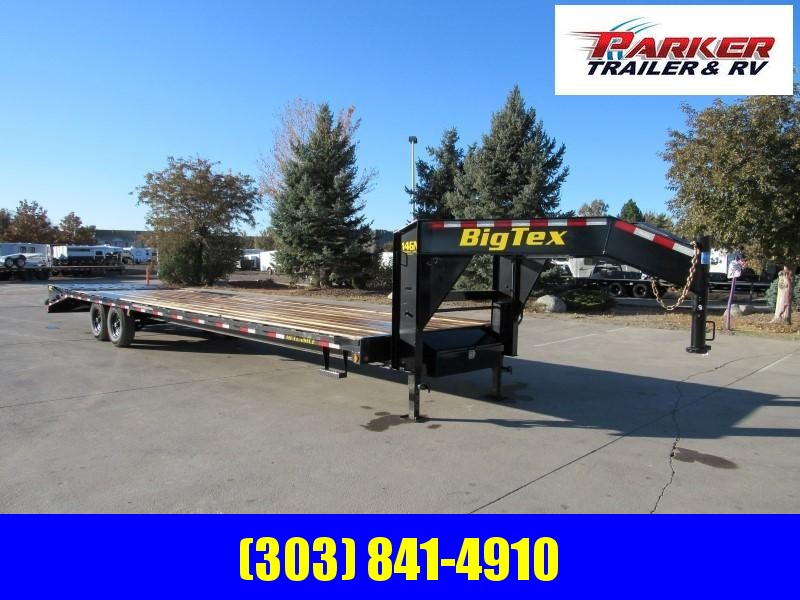 2020 Big Tex Trailers 14GN-28BK+5MR Flatbed Trailer