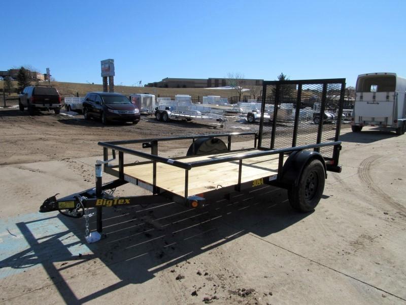 2020 Big Tex Trailers 30SA-10BK4RG Utility Trailer