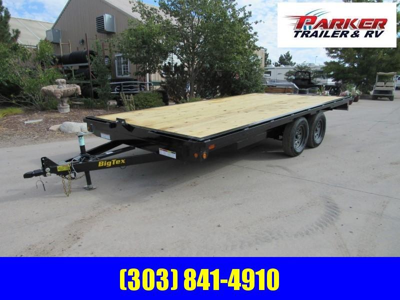 2020 Big Tex Trailers 70OA-16 Flatbed Trailer