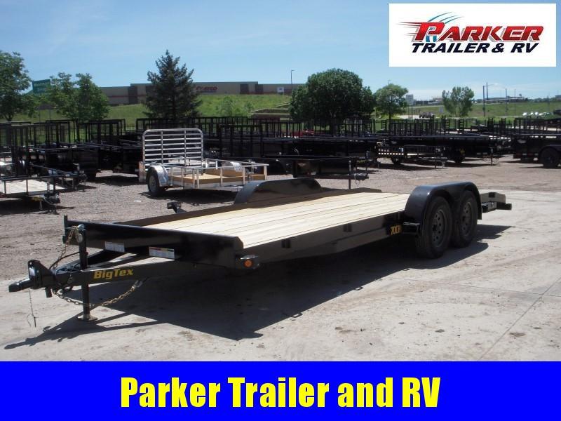 2020 Big Tex Trailers 70CH-20BKDT Flatbed Trailer