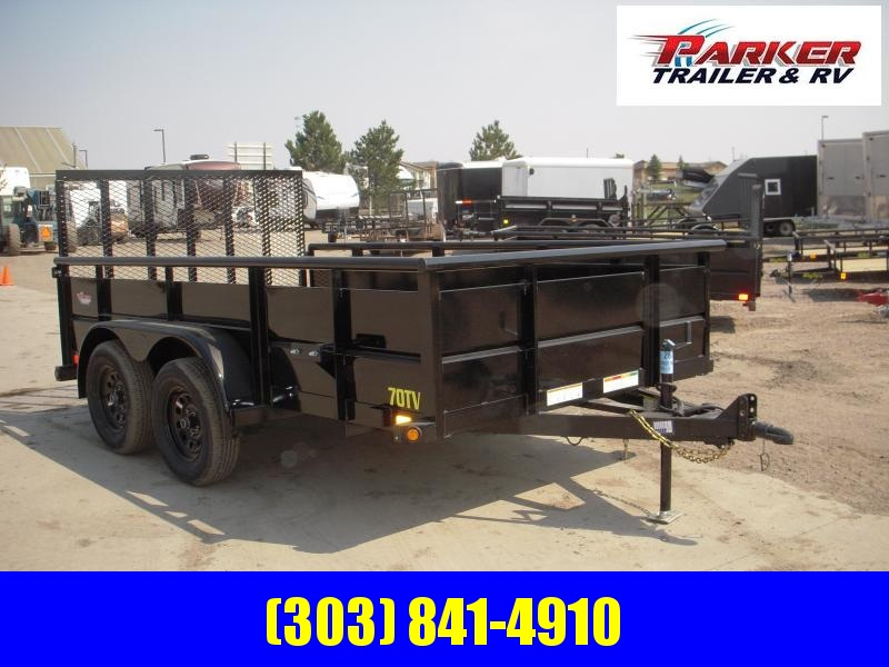 2020 Big Tex Trailers 70TV-12 Utility Trailer