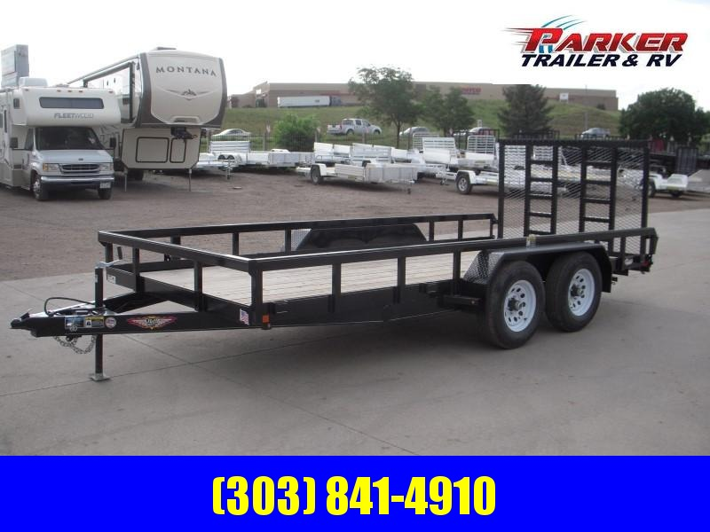 2019 H&H H8216HTRS-100 Utility Trailer