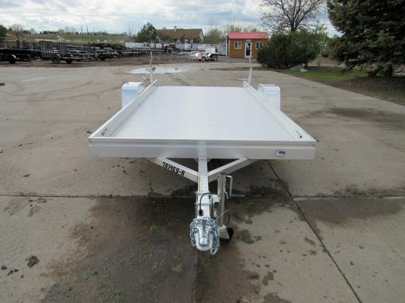 2021 Aluma 7814ESA-S-TG Utility Trailer