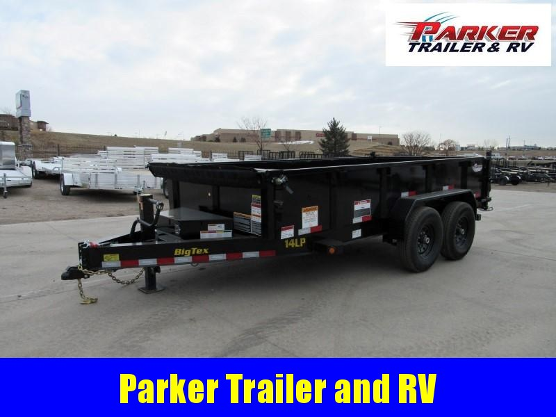 2020 Big Tex Trailers 14LP-14BK6SIRPD Dump