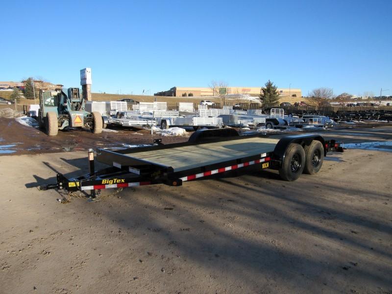 2020 Big Tex Trailers 10CH-18BKDT Flatbed Trailer