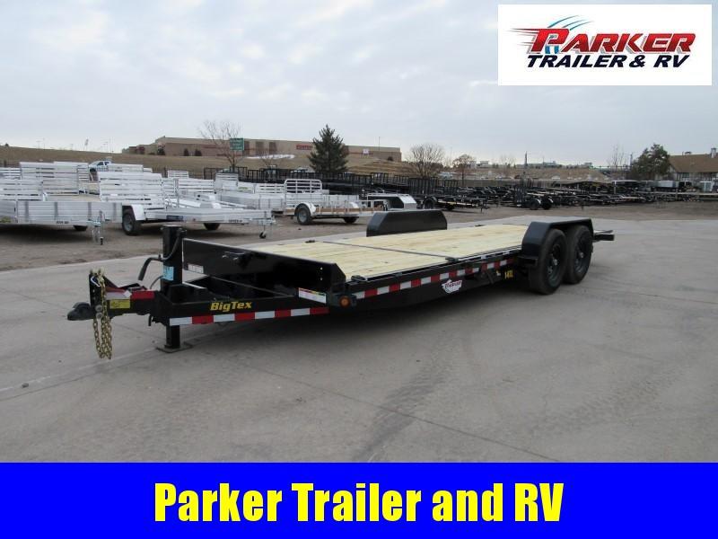 2020 Big Tex Trailers 14TL-22BK Flatbed Trailer
