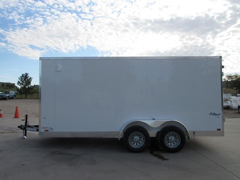 2020 Mid-Atlantic Trailer Manufacturing Inc. OB7X16TE2 Enclosed Cargo Trailer