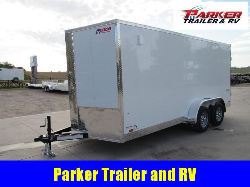 2020 Pace American OB7X16TE2 Enclosed Cargo Trailer