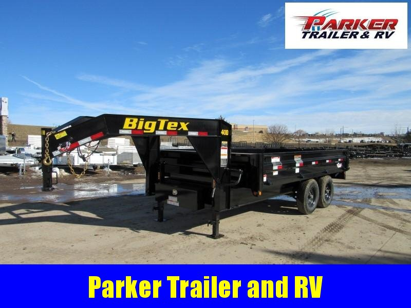 2020 Big Tex Trailers 14OD-14GN Dump