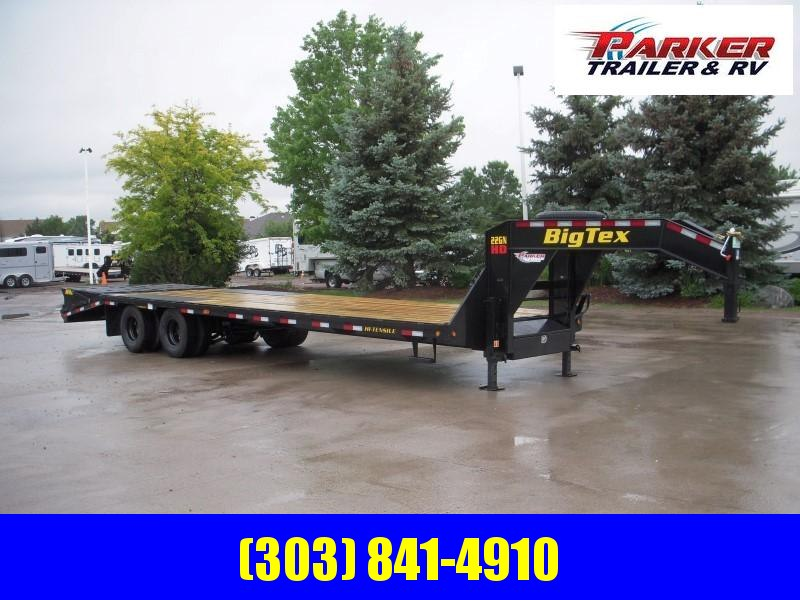2020 Big Tex Trailers 22GN-25BK+5MR Flatbed Trailer