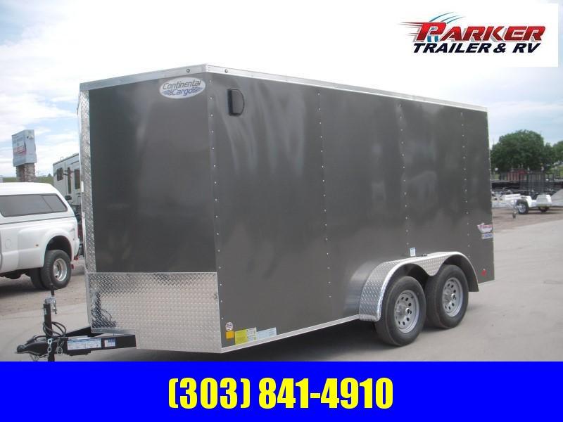 2020 CONTINENTAL CARGO TXVHW714TA2 Enclosed Cargo Trailer