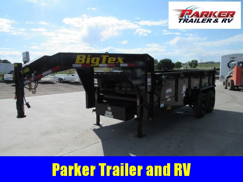 2020 Big Tex Trailers 14GX-14BK7SIRPD Dump