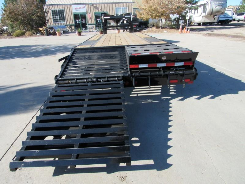 2020 Big Tex Trailers 16GN-20BK+5MR Flatbed Trailer
