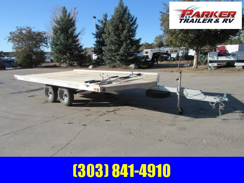 2002 NewMAN 3PL SNOW Flatbed Trailer