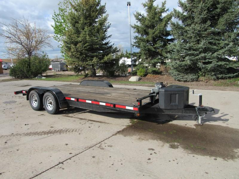2015 Adam 7X18 Flatbed Trailer