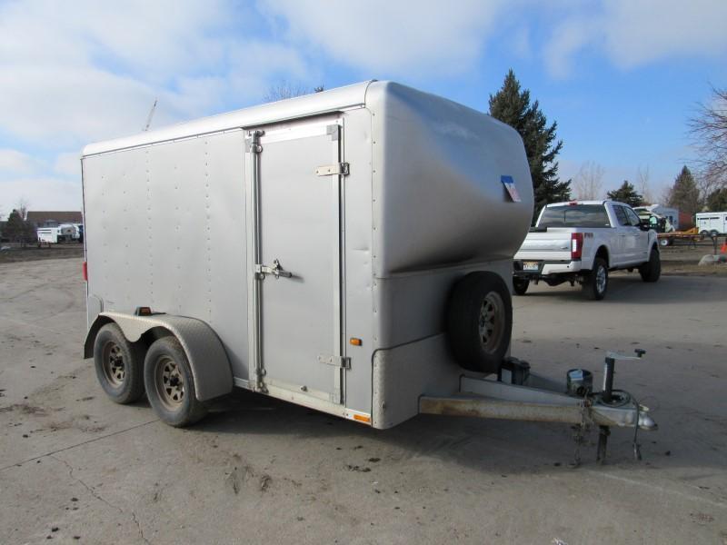 2002 Wells Cargo 6X12 CARGO Enclosed Cargo Trailer