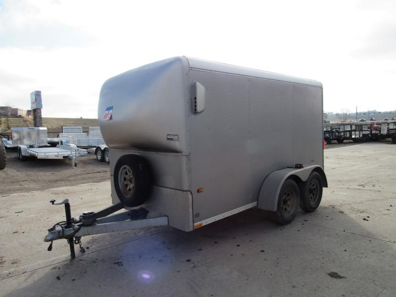 2002 Wells Cargo 6X12 CARGO Enclosed Cargo Trailer