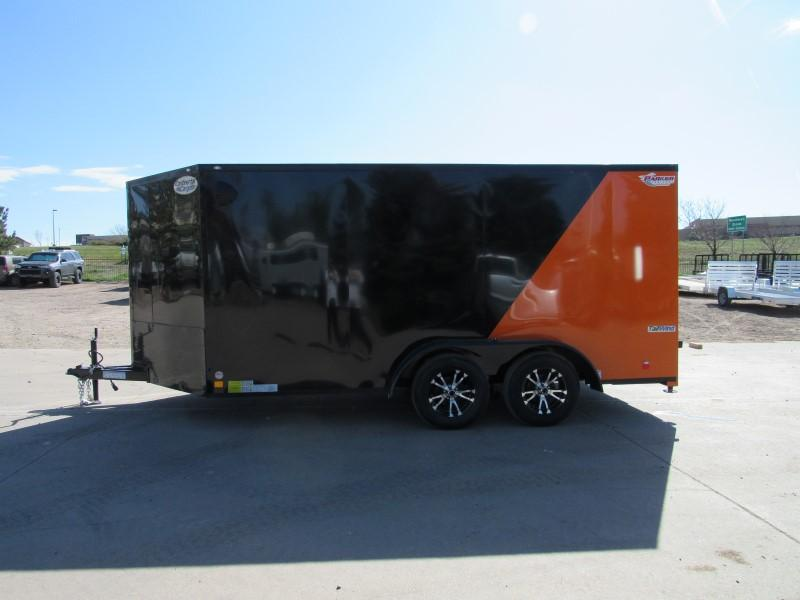 2021 CONTINENTAL CARGO TXTW714TA2 Enclosed Cargo Trailer