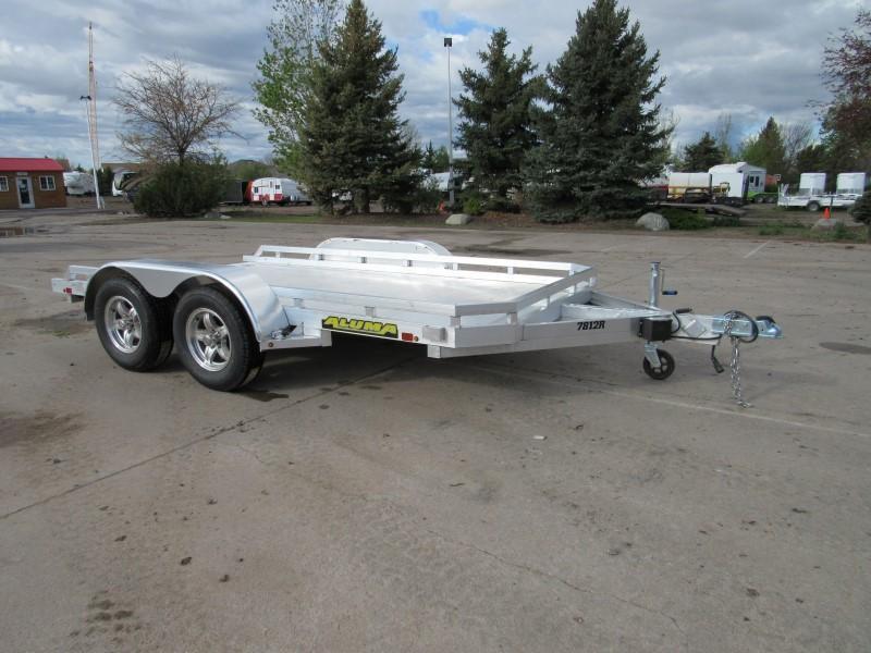 2021 Aluma 7812TA-EL-R-TR-RTD Utility Trailer