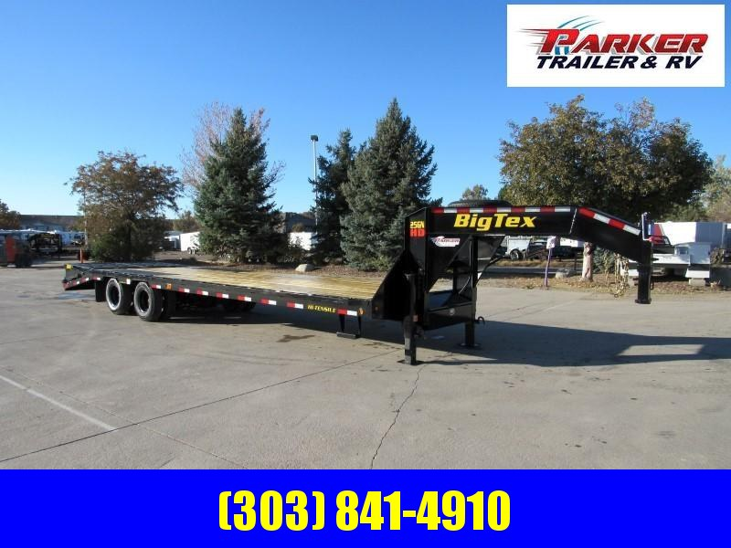 2020 Big Tex Trailers 25GN-25BK+5MR Flatbed Trailer