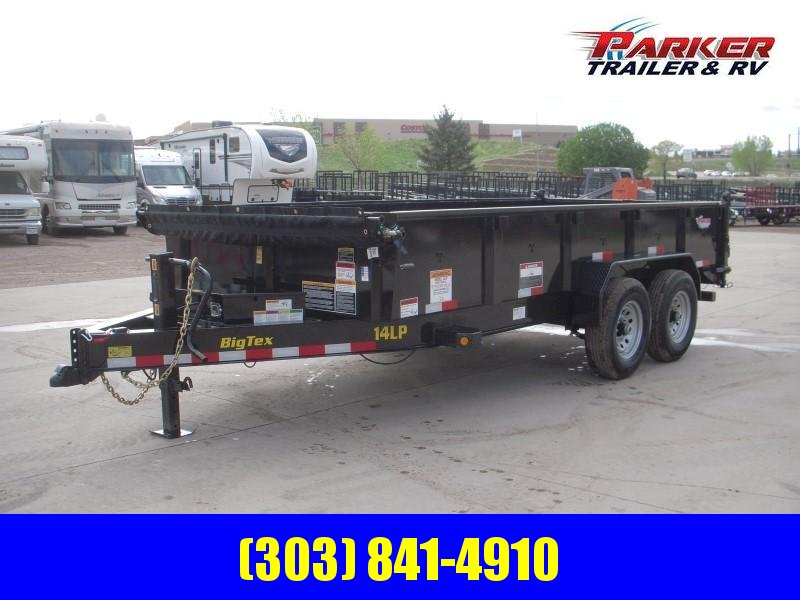 2019 Big Tex Trailers 14LP-16BK6SIRPD Dump