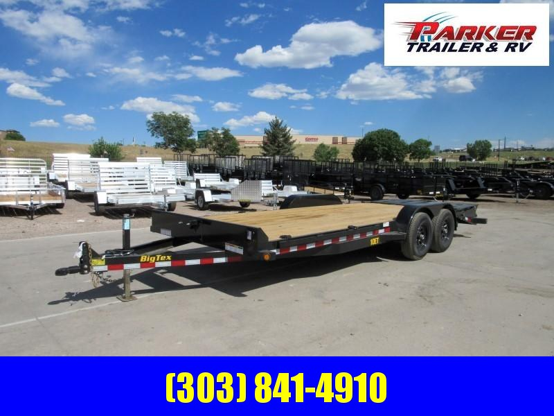 2020 Big Tex Trailers 10ET-20BK-MR Flatbed Trailer