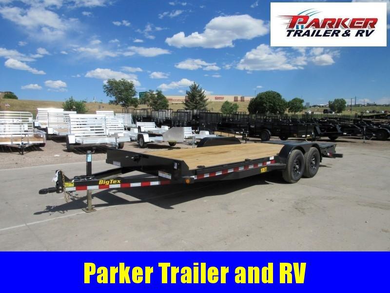 2020 Big Tex Trailers 10ET-20BK-MR Flatbed Trailer