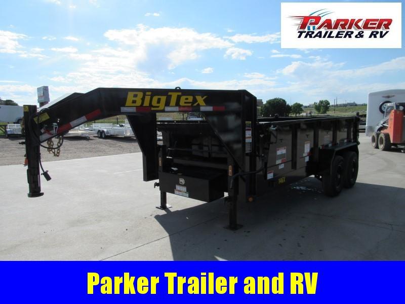 2020 Big Tex Trailers 14GX-14BK7SIRPD Dump