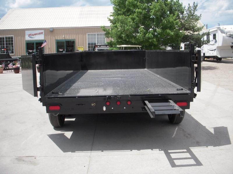 2020 Big Tex Trailers 14LX-16BK-7SIRPD Dump