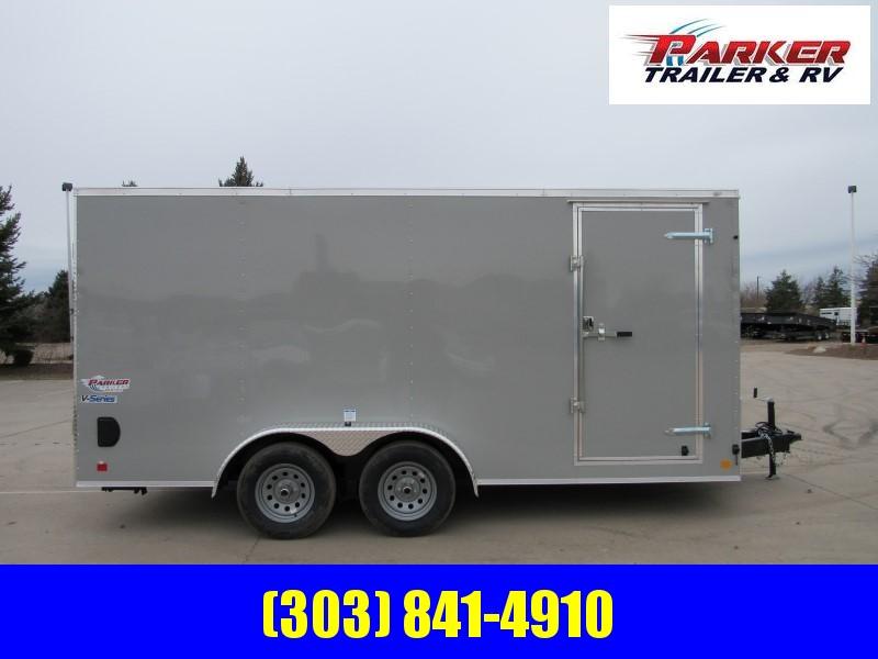 2020 CONTINENTAL CARGO TXVHW716TA2 Enclosed Cargo Trailer