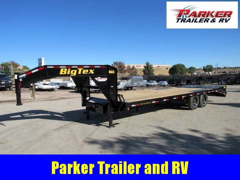 2020 Big Tex Trailers 16GN-20BK+5MR Flatbed Trailer